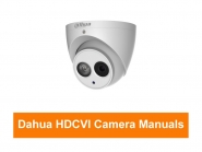 Dahua - HDCVI Kamera Bedienungsanleitungen