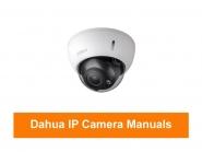 Dahua - IP Kamera Bedienungsanleitungen