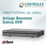 Video-Tutorial #18001: Anlage Benutzer