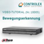 Video-Tutorial #18005: Dahua DVR Bewegungserkennung