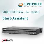 Video-Tutorial #18007: Dahua DVR Start-Assistent
