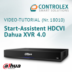 Video-Tutorial #18010: Dahua XVR Start-Assistent HDCVI 4.0