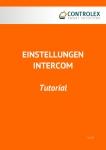 Tutorial Einstellungen Intercom