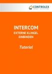 Tutorial Intercom Externe Klingel einbinden