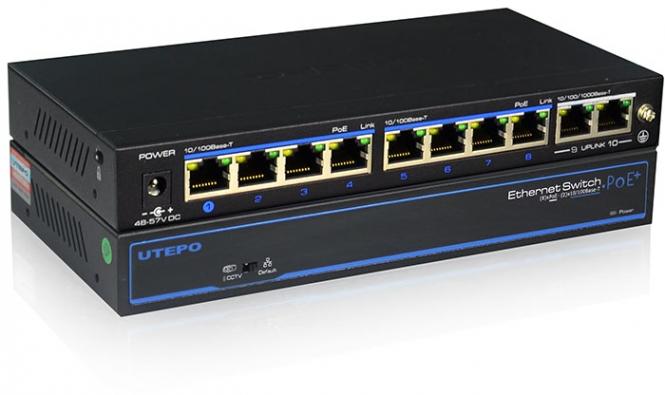 Utepo - UTP3-SW08-TP120-A1 - Switch - 8 PoE