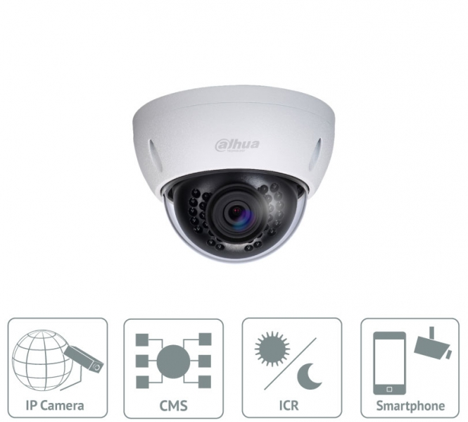 Dahua - IPC-HDBW4800EP-0400B - IP - Dome