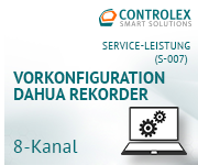 Vorkonfiguration DAHUA Rekorder - 8 Kanal