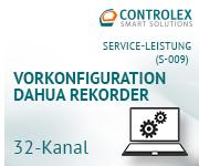 Vorkonfiguration DAHUA Rekorder - 32 Kanal