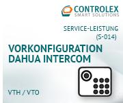 Vorkonfiguration DAHUA Intercom - 1 Kamera + 1 Monitor