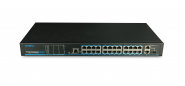 Utepo - UTP1-SW24-TP420 - Switch - 24 PoE - 2 GB - 1 SFP