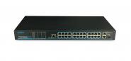 Utepo - UTP1-SW24-TP420 - Switch - 24 PoE - 1 SFP