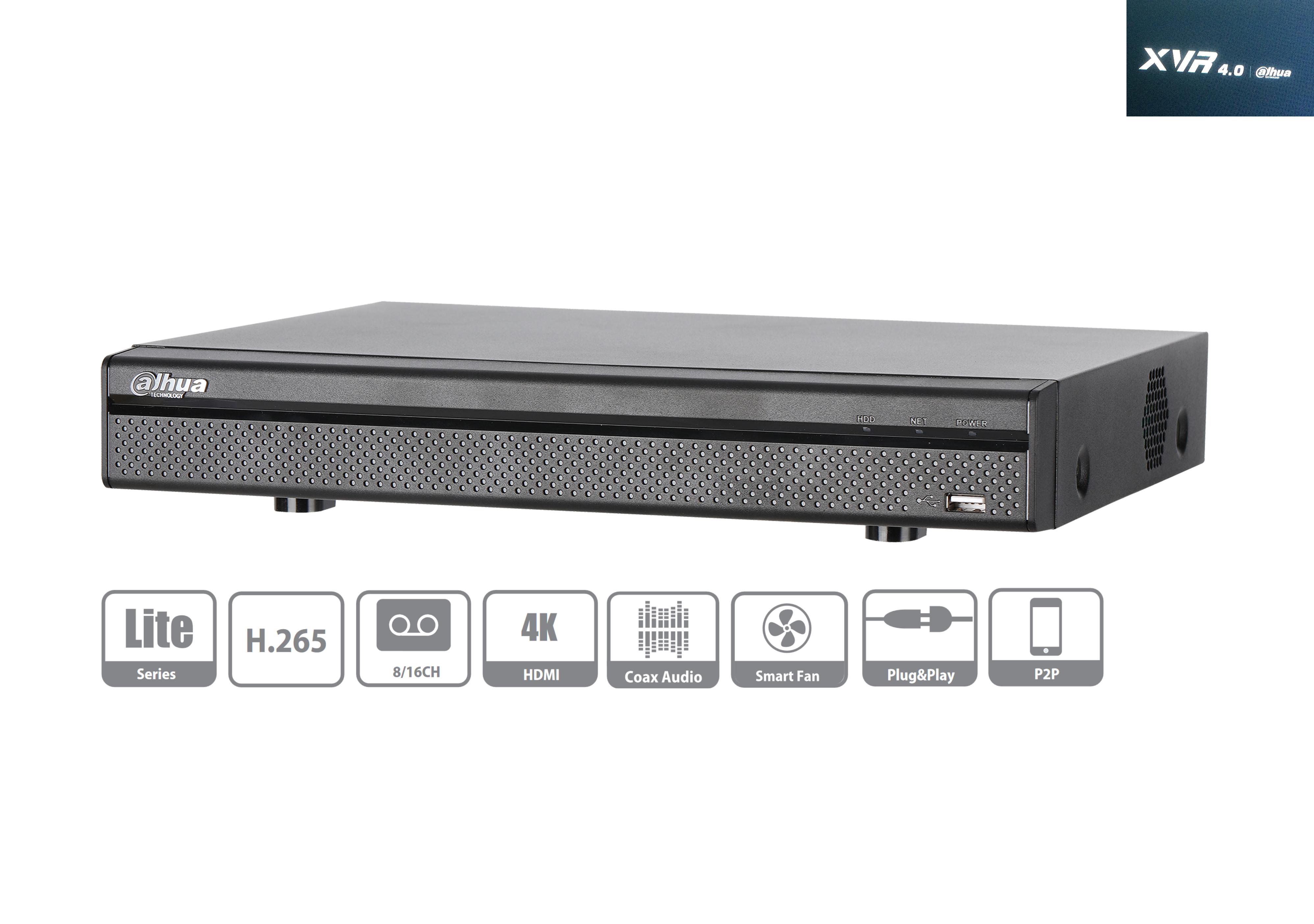 Dahua - XVR5108H-4KL-X - XVR - 8 Kanal | controlex Security