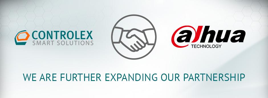 Banner Dahua Controlex Partnerschaft