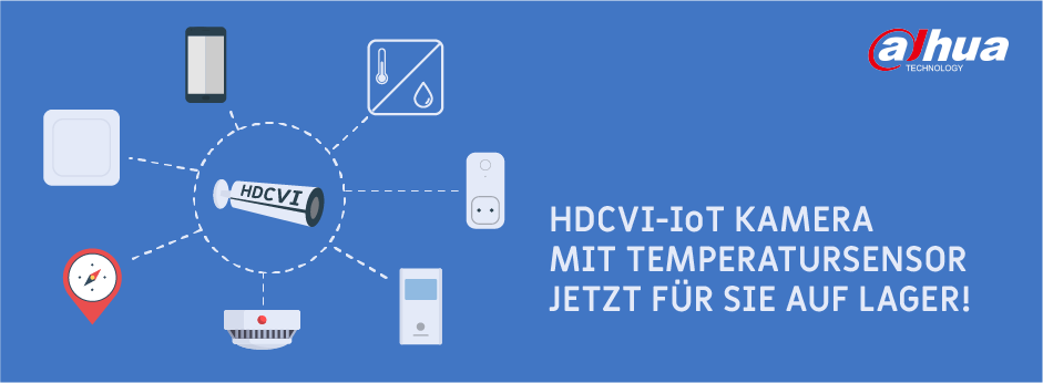 Banner Dahua HDCVI IoT